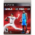 PS3 - Take-Two NBA 2K13 / MLB 2K13 Combo Pack
