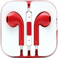 4XEM Red Earphones For iPhone/iPod/iPad