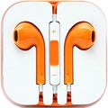 4XEM Orange Earphones For iPhone/iPod/iPad