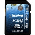 Kingston Elite 8 GB Secure Digital High Capacity (SDHC)