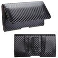 BasAcc Black/ Gray Braided Pouch for Sony Ericsson LT28AT Xperia Ion