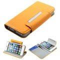 BasAcc Yellow Book-Style Premium MyJacket Wallet For Apple� iPhone 5