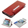 BasAcc Red Book-Style Premium MyJacket Wallet For Apple� iPhone 5
