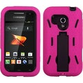 BasAcc Pink Hybrid Stand Case for Samsung M830 Galaxy Rush