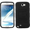 BasAcc Black Armor Case for Samsung Galaxy Note 2/ II T889/ I605