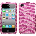 BasAcc Pink/ Hot Pink Diamante Case for Apple iPhone 4/ 4S