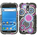 BasAcc Bubble Rhinestone Case for Samsung Galaxy S II T989 Hercules