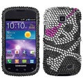 BasAcc Skull Diamante Case for Samsung i110 Illusion