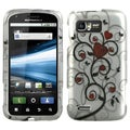 BasAcc Heart Tree 2D Silver Case for Motorola MB865 Atrix 2