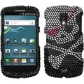 BasAcc Skull Diamante Case for Samsung R930 Galaxy S Aviator