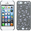BasAcc Gray Bird Nest Case for Apple iPhone 5