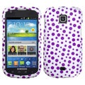 BasAcc Purple Mixed Polka Dots Case for Samsung I200 Stellar