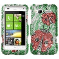 BasAcc Ladybugs Diamante Phone Protector Case for HTC Radar 4G