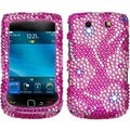 BasAcc Candy Flowers Diamante Protector for BlackBerry 9800 Torch