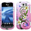 BasAcc Tropical Flowers Phone Protector Case for HTC myTouch 4G Slide