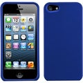 BasAcc Titanium Solid Dark Blue Protector Case for Apple iPhone 5