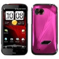 BasAcc Hot Pink Cosmo Back Case for HTC ADR6425 Rezound