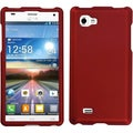 BasAcc Titanium Solid Red Phone Case for LG P880 Optimus 4X HD