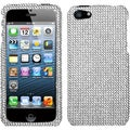BasAcc Silver Diamante Phone Protector Case for Apple� iPhone 5