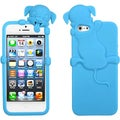 BasAcc Baby Blue Dog Peeking Pets Skin Case for Apple� iPhone 5