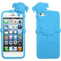 BasAcc Baby Blue Dog Peeking Pets Skin Case for Apple iPhone 5