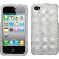 BasAcc Silver Diamante 2.0 Case for Apple iPhone 4/ 4S