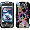 BasAcc Peace Pop Phone Case for LG Optimus V/ S LS670/ U VM670