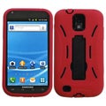 BasAcc Black/ Red Hybrid Kickstand Case for Samsung T989 Hercules