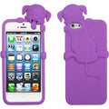 BasAcc Electric Purple Dog Case for Apple iPhone 5