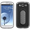 BasAcc Black Snap Case with Stand for Samsung Galaxy S III/ S3 i9300