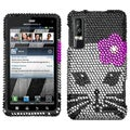 BasAcc Kitty Diamante Phone Case for Motorola XT862 Droid 3