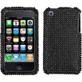 BasAcc Black/ Diamante Case for Apple iPhone 3GS/ 3G