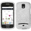 BasAcc Silver/ Diamante Case for Samsung T699 Galaxy S Replay 4G