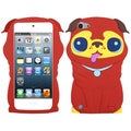 BasAcc Red/ Pekinese Pastel Skin Case for Apple iPod touch 5