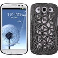 BasAcc Black Hard Skin Case for Samsung Galaxy S 3/ III i9300