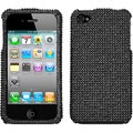 BasAcc Black/ Diamante Case for Apple iPhone 4S/ 4