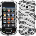 BasAcc Black/ Zebra Skin/ Diamante Case for Samsung T528G