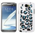 BasAcc Leopard/ Black/ Blue Pearl Back Case for Samsung Galaxy Note 2