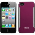 BasAcc Red Brushed Metal Lite Back Case for Apple iPhone 4S/ 4