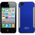 BasAcc Dark Blue/ Brushed Metal Lite Case for Apple iPhone 4S/ 4