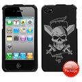BasAcc Pirate Skull Reflex Phone Case for Apple iPhone 4S/ 4