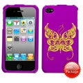 BasAcc Flying Butterfly/ Reflex Phone Case for Apple iPhone 4S/ 4