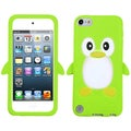 BasAcc Green/ Penguin/ Pastel Skin Case for Apple iPod touch 5