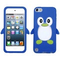 Dark Blue/ Penguin/ Pastel Skin Case for Apple iPod touch 5