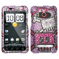 BasAcc Robot Diamante Case for HTC EVO 4G