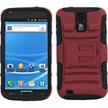 BasAcc Red/ Black Armor Stand Case for Samsung T989 Galaxy S II