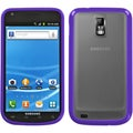 BasAcc Clear/ Purple Transparent TPU Case for Samsung T989 Hercules