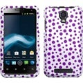 BasAcc Purple Mixed Polka Dots Phone Case for ZTE V8000 Engage