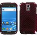 BasAcc Racing Fiber/ Red Case for Samsung Galaxy S II T989 Hercules