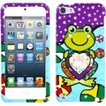 BasAcc Purple Lotus Frog Phone Case for Apple iPod touch 5